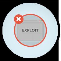 Exploit blokkoló