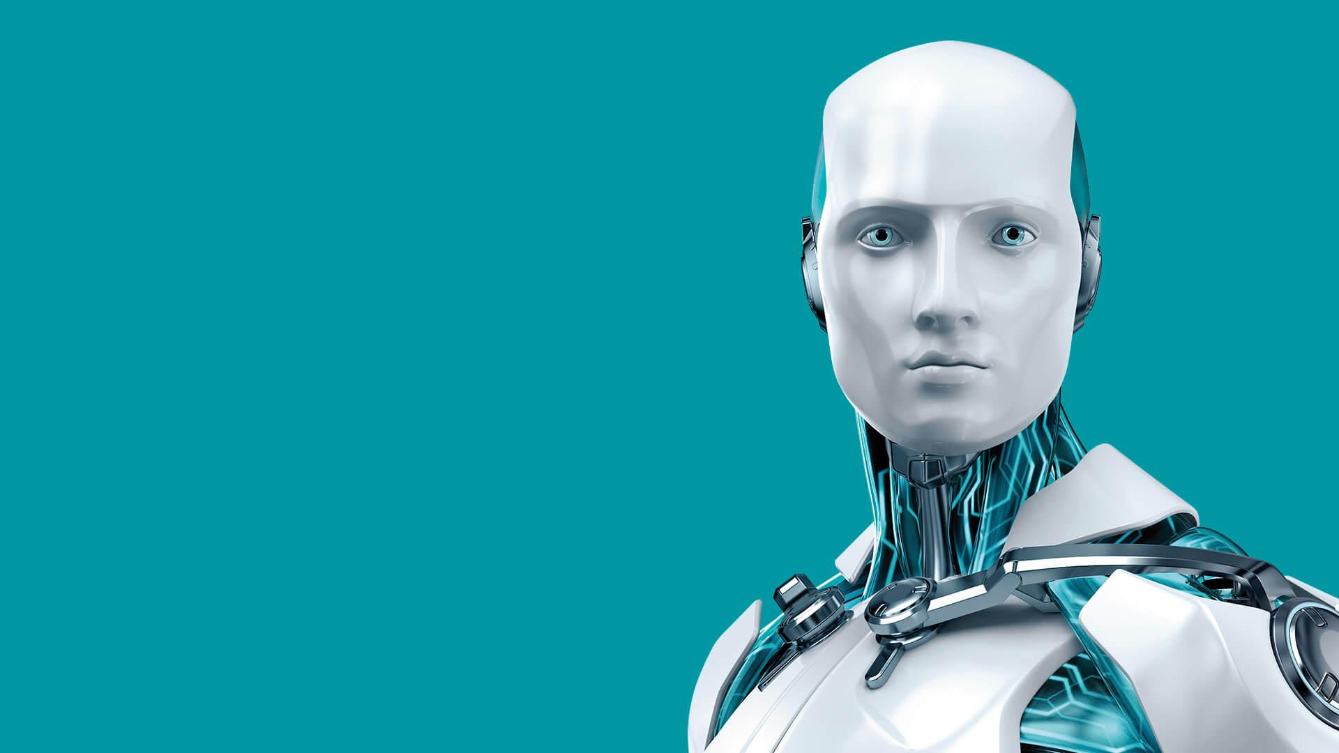 ESET robot háttérkép