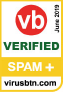 VB Award - spam+ verified