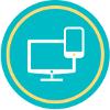 Multiplatform product portfolio icon