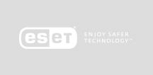 ESET logo white
