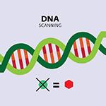 Ikona detekce DNA