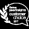 Gartner Peer Insight award icon