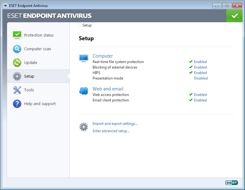 Resultado de imagen de ESET Endpoint Antivirus / Security