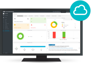 ESET Cloud Administrator monitor
