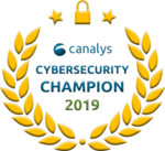 Canalys Cybersecurity Champion 2019 award