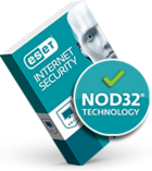 ESET Internet Security--Powered by NOD32 technology