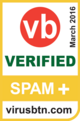 VBSpam comparative testing icon