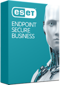Boxshot of ESET Endpoint Secure Business