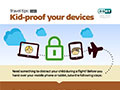 Kid- proof your devices infographic