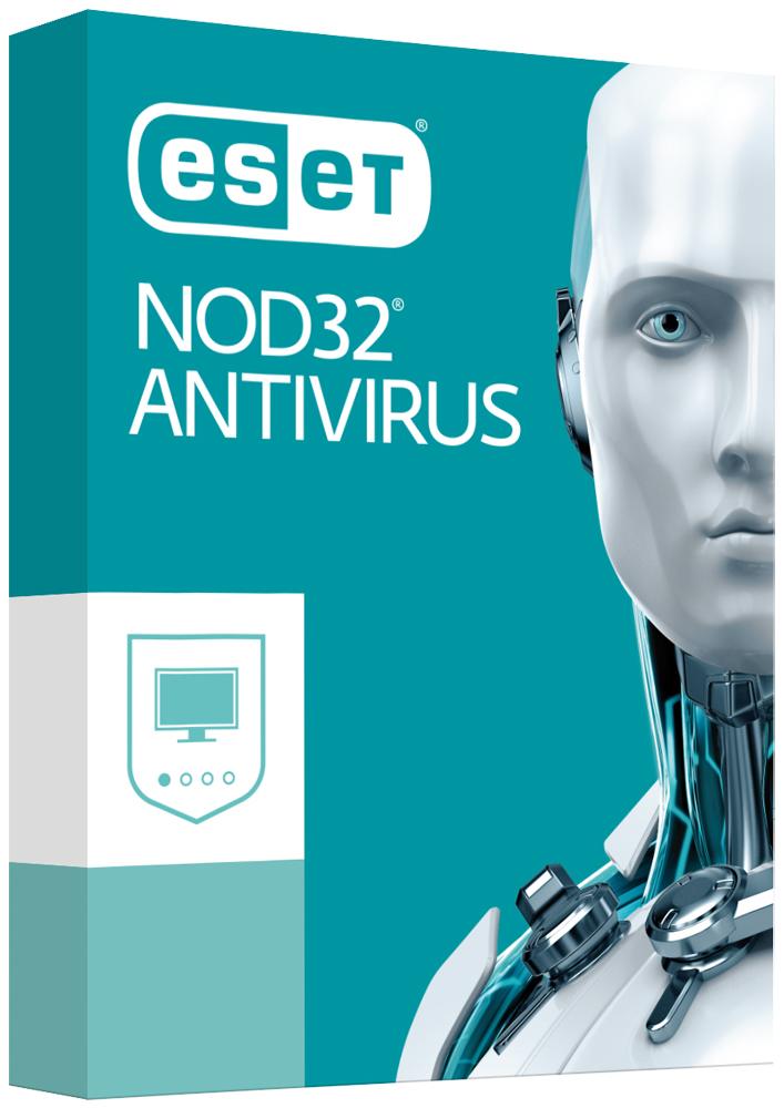 ESET NOD32 Windows Antivirus 10 - 1-year; 1-PC