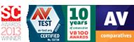 ESET award logos